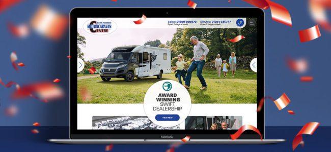 South Hereford Motorcaravan Centre new website