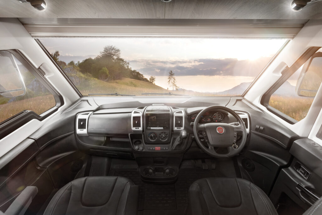 2021 Swift Grand Frontier cab area